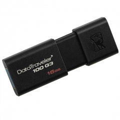 金士顿(Kingston)DT100G3 128GB USB3.0 U盘  黑色